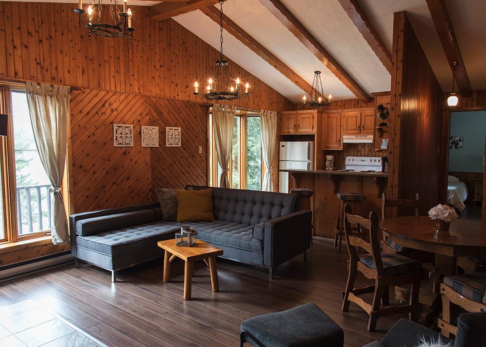 Location Chalet 2 Chambres Pour 4 Laurentides Chalets