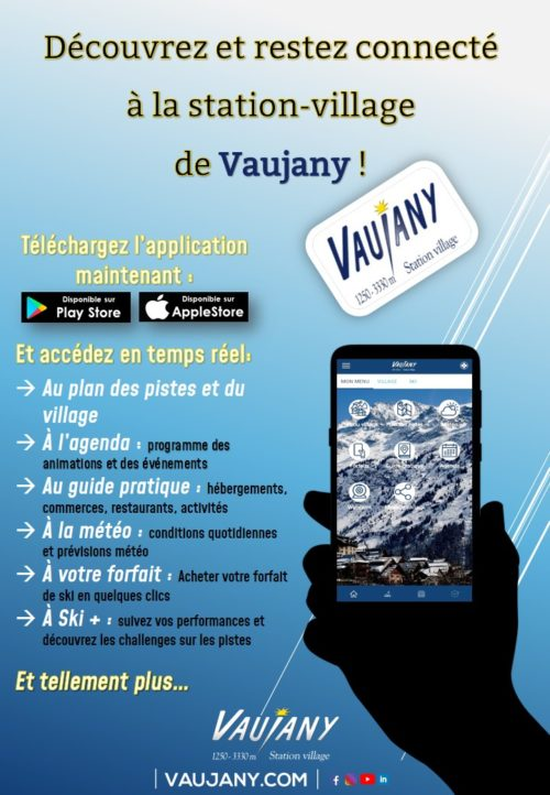 chalet Skidh - application mobile vaujany