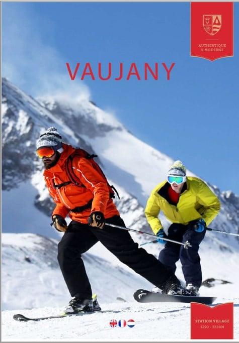 chalet Skidh Vaujany . brochure hiver 2020 2021
