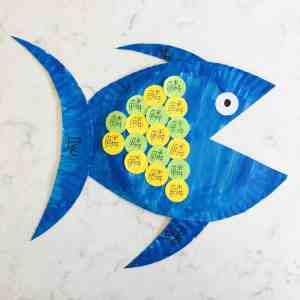 Fish Anatomy Paper Plate Craft