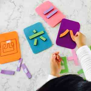 Velcro Numbers Puzzle