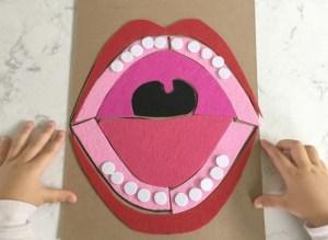 DIY Mouth Puzzle