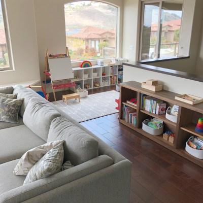 Homeschool Tour: Mid-Century Modern Meets Montessori
