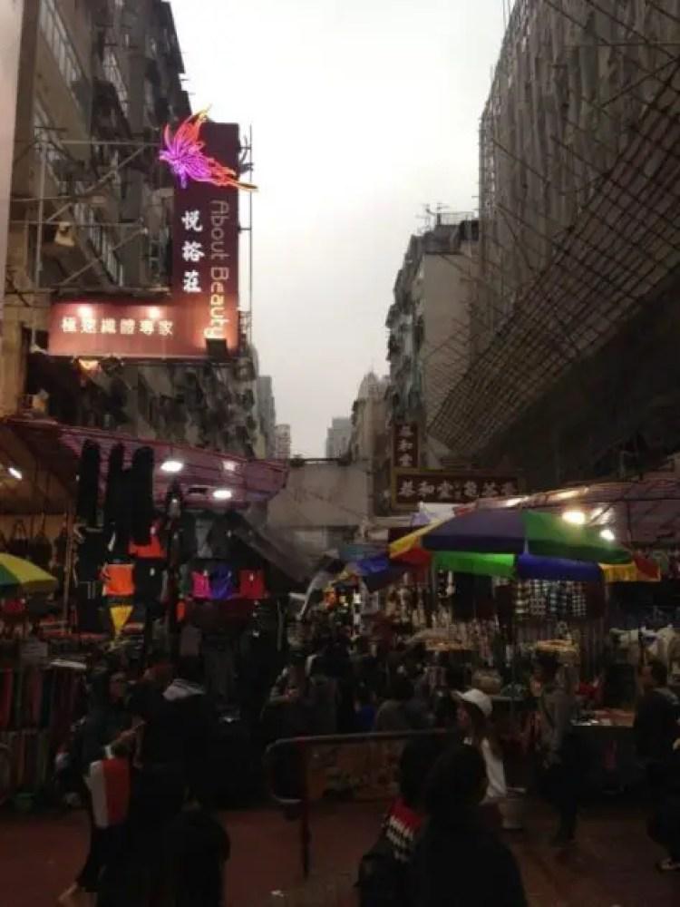 The ladies market