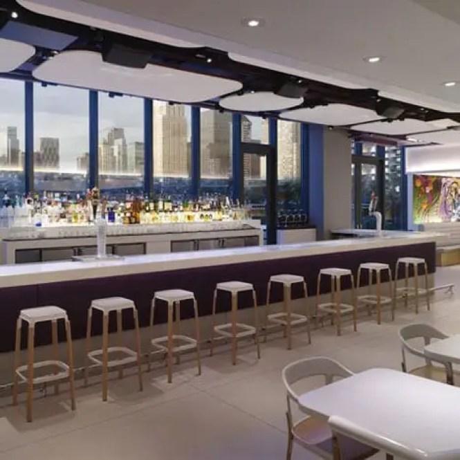 bar at the Yotel New York