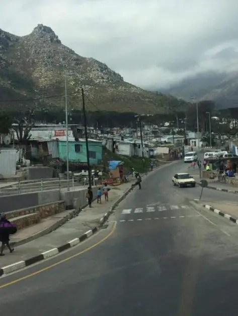 The start of the Imizamo Yethu township