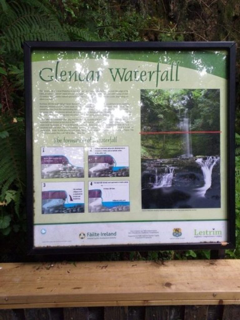 info on Glecar Waterfall