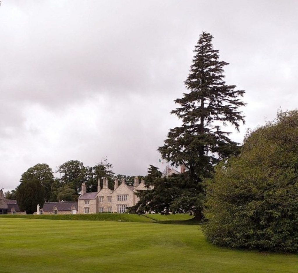 lough rynn castle from the side