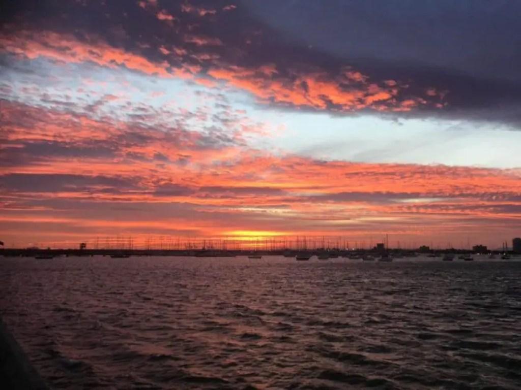 bali sunsets