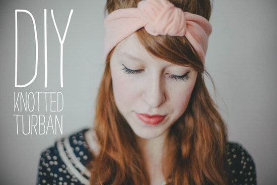 Babble DIY Knoted Turban
