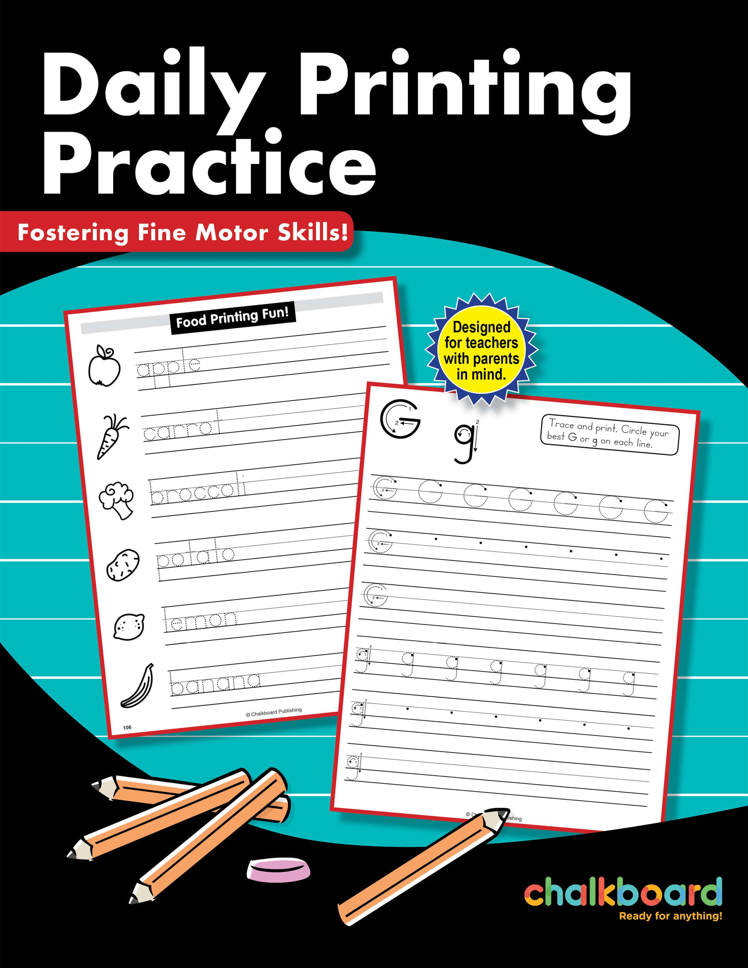 United States Daily Printing Practice Grades K 2