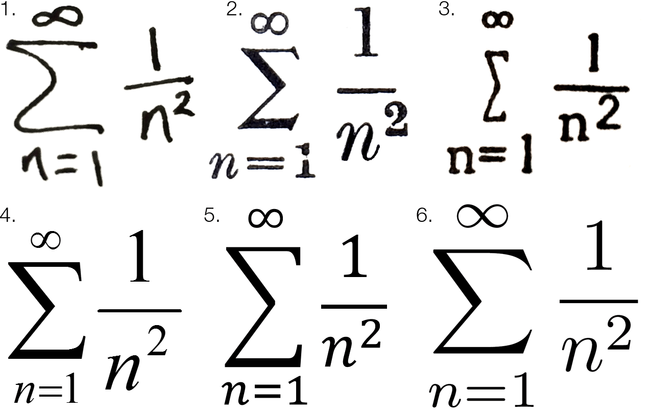 Is there a perfect maths font chalkdust youre seeing the output of six systems using different fonts biocorpaavc Images