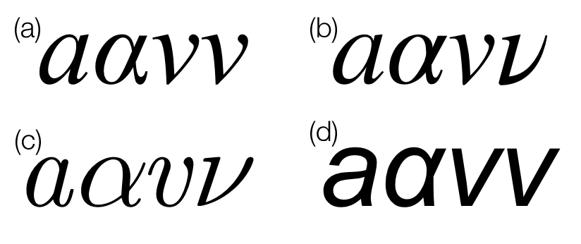 Is there a perfect maths font? - Chalkdust
