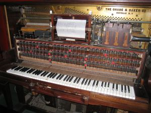 A player piano