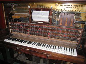 A player piano