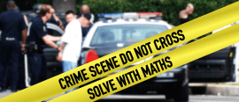 Catching criminals with maths