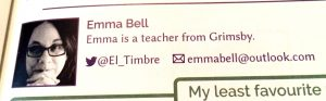 Emma Bell email mistake, issue 5