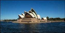 The Sydney Opera house on a sunny day