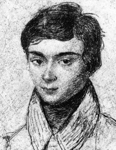A portrait of the mathematician, Évariste Galois
