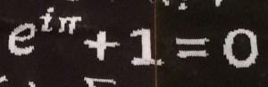 e^(i pi)+1=0