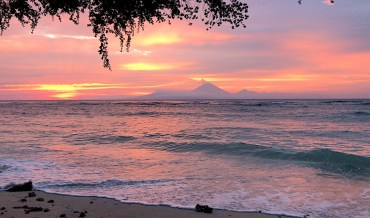 Postcard from Bali: How to survive a volcano
