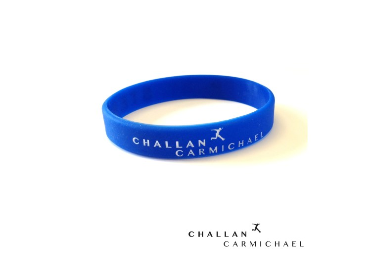 Challan Carmichael - Step By Step Wristband [Blue]