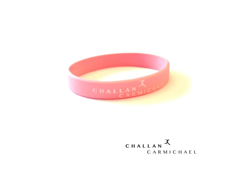 Challan Carmichael - Step By Step Wristband [Pink]