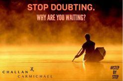 STOP DOUBTING. WHY YOU WAITING. #StepByStepLyrics