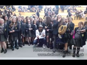 Challan Carmichael Step by Step School Tour - Notre Dame - Ivanho College - Stanley High