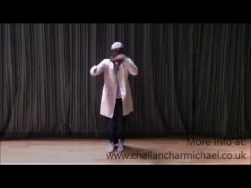 Challan Carmichael 'Behind The Scenes' Dance Promo - Step by Step