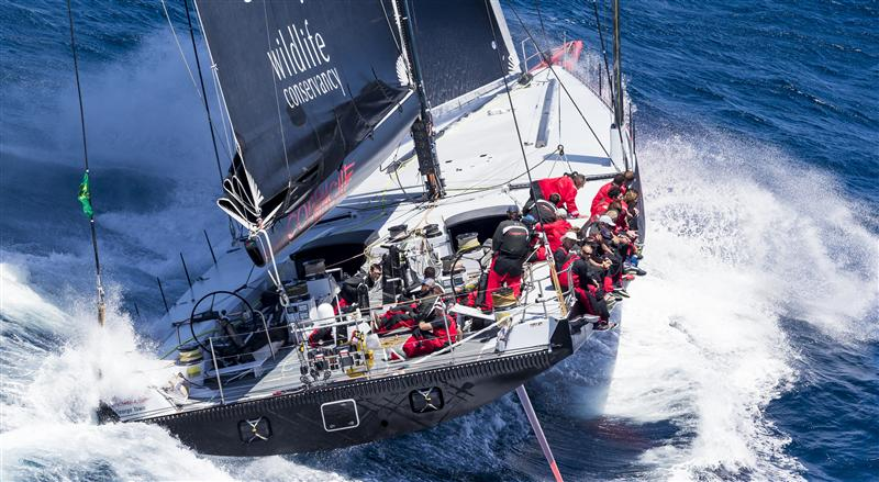 Wild Oats XI Takes Line Honours In The Rolex Sydney Hobart