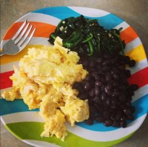 slow-carb-eggs-beans