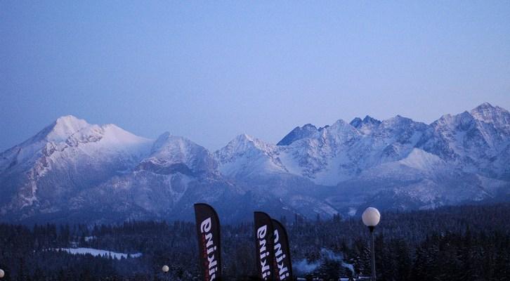 Snowboard w Tatrach II