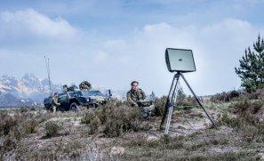 Squire Portable Medium-Range Ground Surveillance Radar Parts