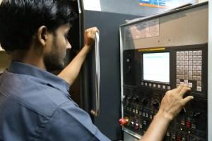 worker, industrial, machines