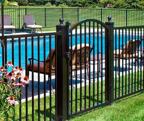 aluminum fence installation nj