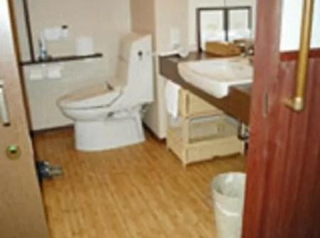 【彩つむぎ】バリアフリー対応風呂付き洋室201号室・301号室のトイレ