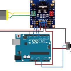 L298 H Bridge Circuit Diagram Energy Transformation Arduino Dc Motor Control Impremedia