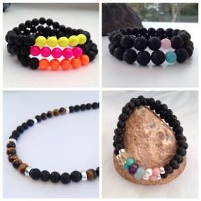 Lava jewellery.