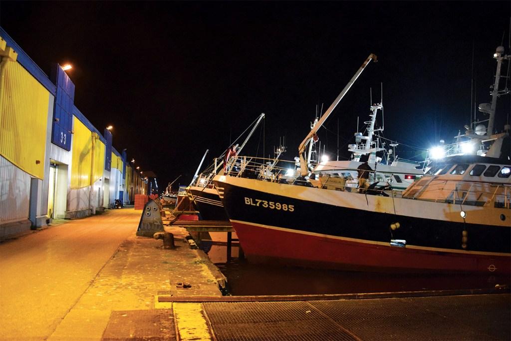 Bateau de pêche locale Boulogne sur mer