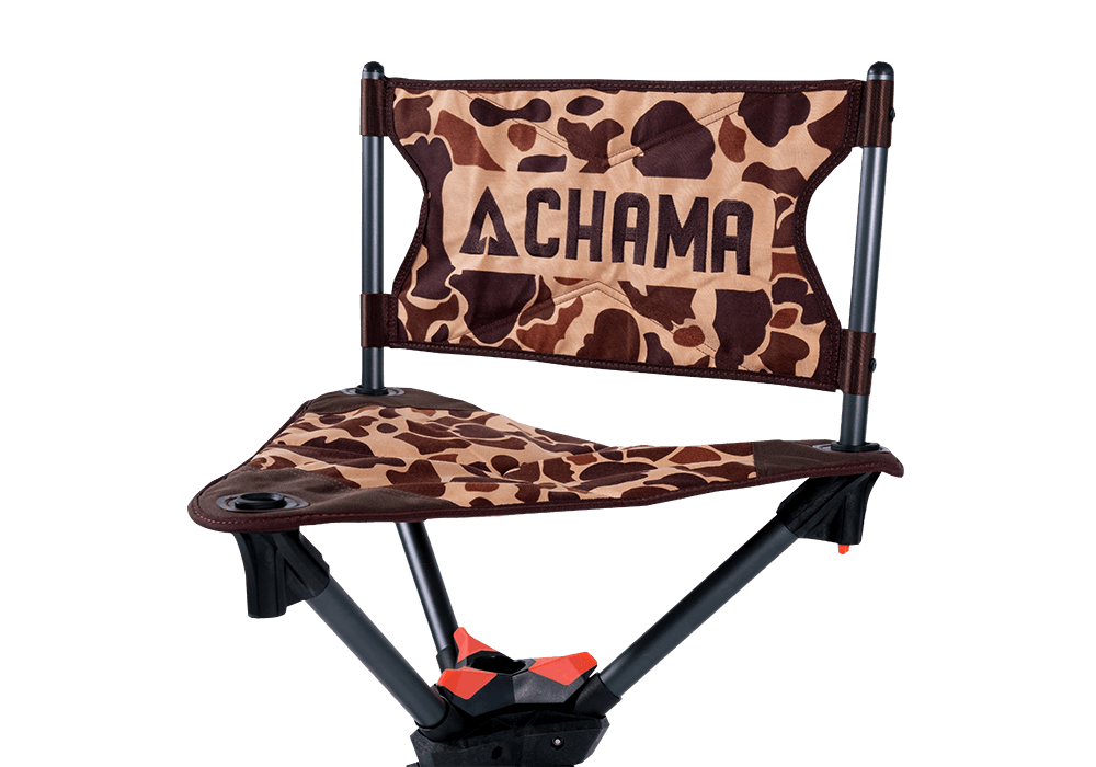 yeti folding chair oval dining chama chairs the all terrain swivel vintage camo