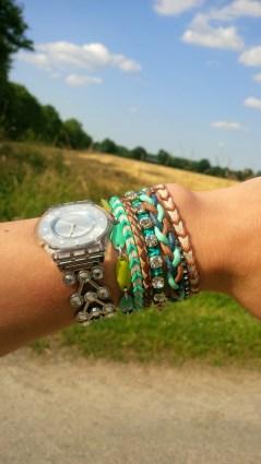 mon bracelet d'été