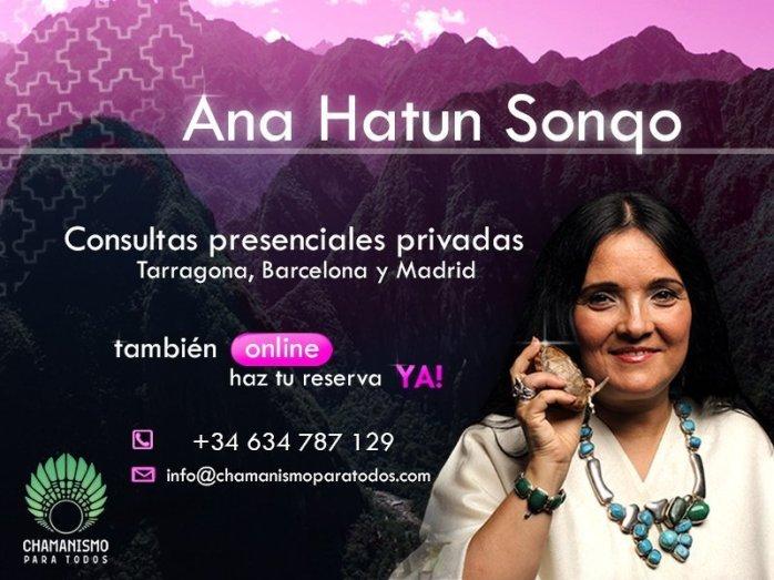 El próximo 20 de noviembre en Barcelona Consultas privadas en Barcelona