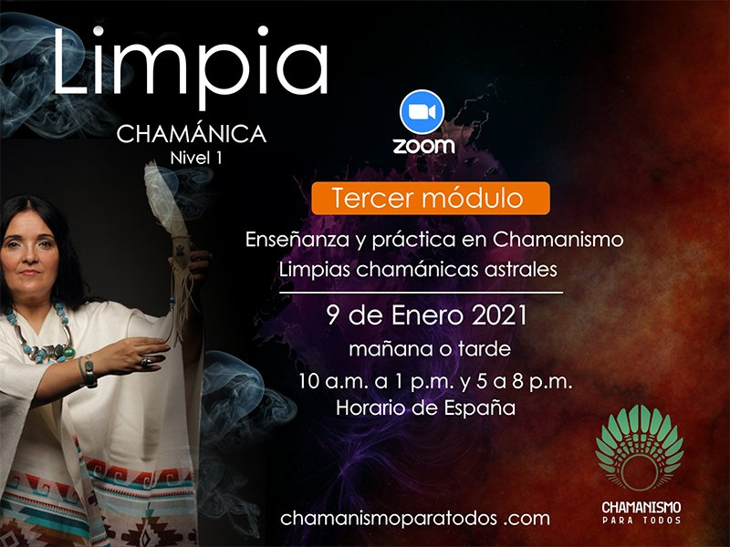 Limpia Chamánica astral