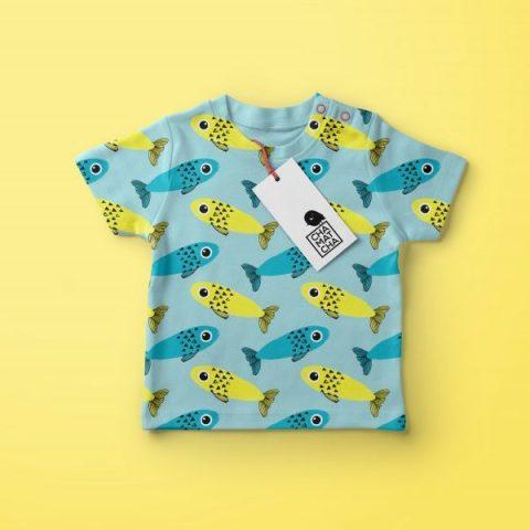 Baby TShirt - Création d'un motif textile