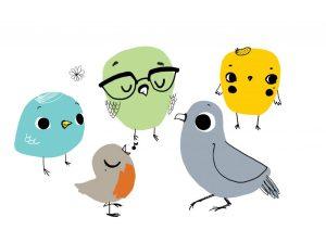 Les zozios - Illustration pour enfant