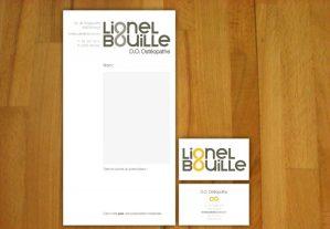 Lionel Bouille - Ordonnance et carte de visite