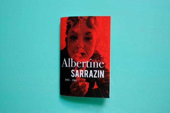 Couverture d'une brochure sur Albertine Sarrazin