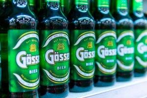 オーストリアビール「ゲッサー」」