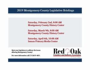 Legislative Briefings 2019